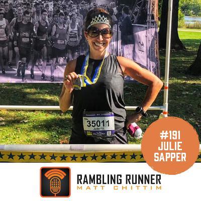 #191 - Julie Sapper: Overcoming Injury