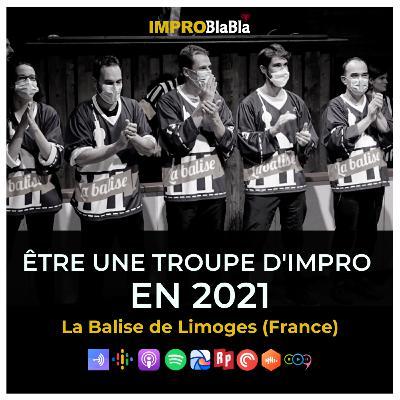 Être une troupe d'impro en 2021 - La Balise de Limoges (France)