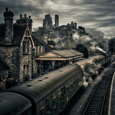 ASMR - The Train Ride