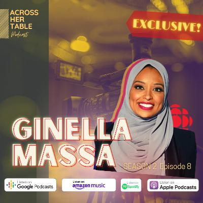 S2 Ep#08: EXCLUSIVE: Ginella Massa, Host, Canada Tonight on CBC News talks about her journey & Afro-Latina-Muslim roots