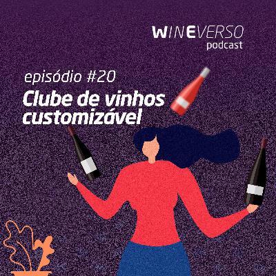 Clube de vinhos customizável