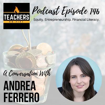 146 - Andrea Ferrero: Equity, Entrepreneurship, and Financial Literacy