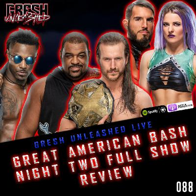 WWE NXT THE GREAT AMERICAN BASH 2020 NIGHT TWO FULL SHOW RESULTS & REVIEW   GRESH UNLEASHED 088