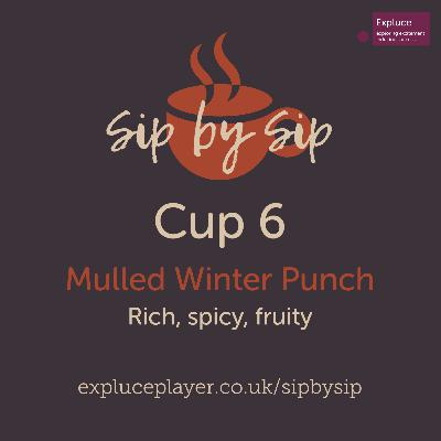 Cup 6, Mulled Winter Punch: Rich, spicy, fruity