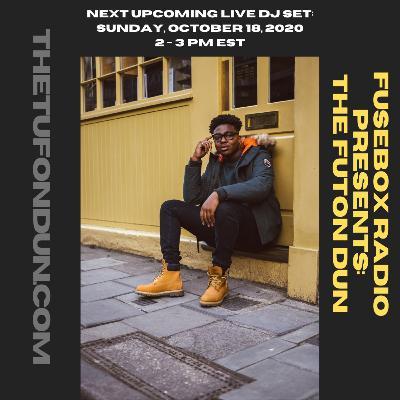 FuseBox Radio #616: DJ Fusion's The Futon Dun Livestream DJ Mix Fall Session #7 (F.A.J.R. = Funk, Acid Jazz & Rap Mix)