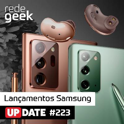 Update – Lançamentos Samsung