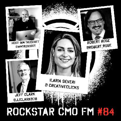 The Jeff has Requirements, Ilaria Inspires Young Marketers and Robert Differentiates with a Content Cocktail Episode