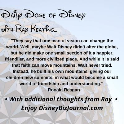 Episode #56: Disney, Reagan and Being Civilized