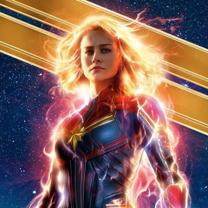 Captain Marvel soars