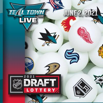 2021 NHL Draft Lottery (Live Reaction) - 6-2-2021 - Teal Town USA Live