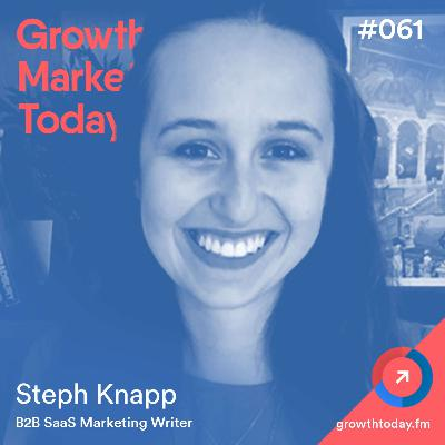 The SaaS Onboarding Email Strategy After Reviewing 153+ Emails with Steph Knapp  (GMT061)