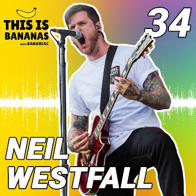 #34 Plant Based Diet, Cycling, Biscuit Co., 44 Curse | Neil Westfall of A Day to Remember