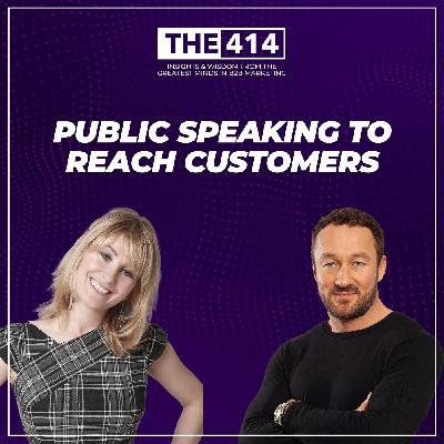 Public Speaking To Reach Customers