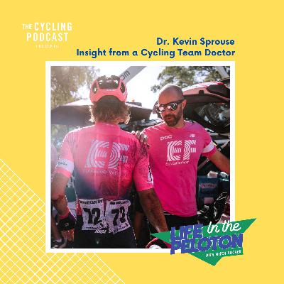 148: Life in the Peloton –Dr Kevin Sprouse