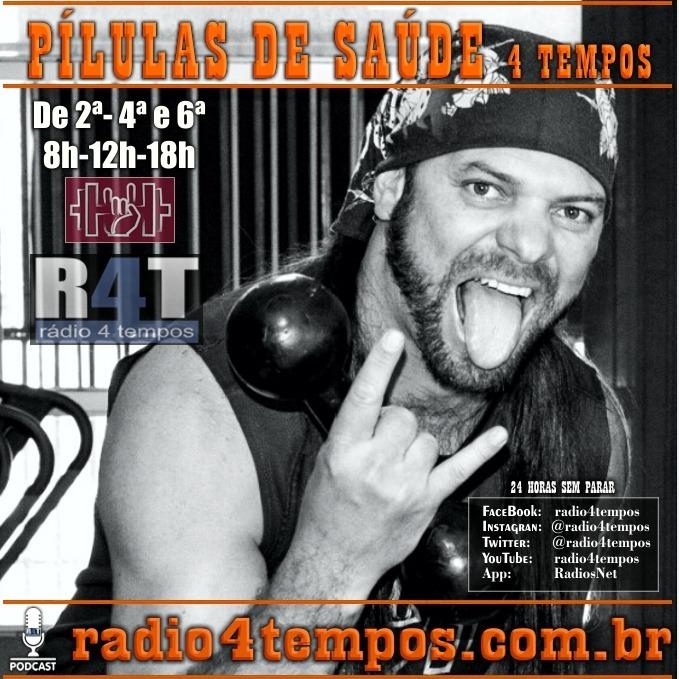 Rádio 4 Tempos - Pílulas de Saúde 118:Itazil Junior
