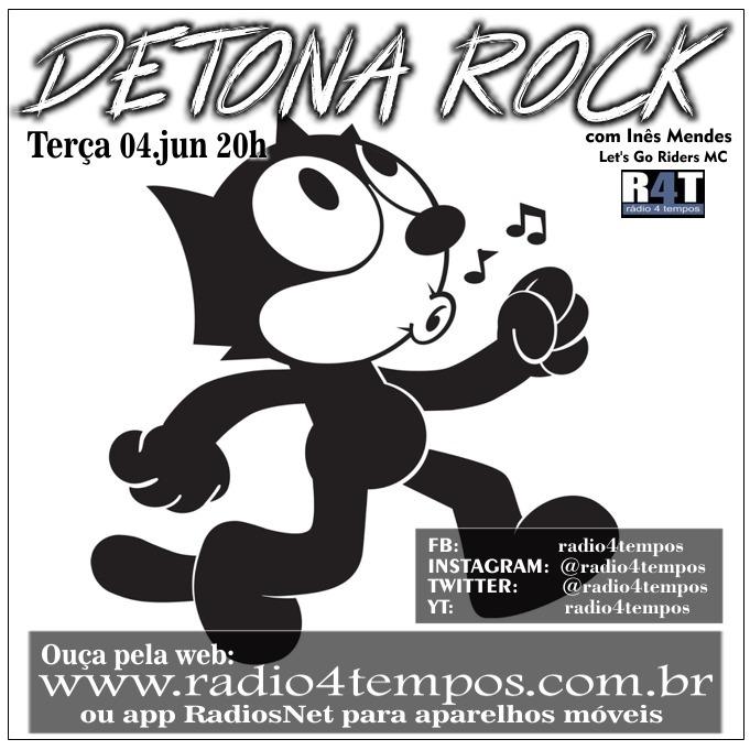 Rádio 4 Tempos - Detona Rock 14:Rádio 4 Tempos