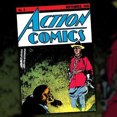 Action Comics #4 (September, 1938)