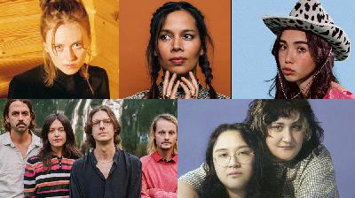 New Mix: Rhiannon Giddens, A Jay Som-Palehound Collaboration, First Aid Kit, More