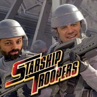 Al Mega SQUASHES Starship Troopers Episode 53