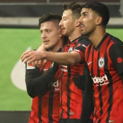 Jovic back to Bundesliga with 2 goals on his Eintracht Frankfurt return