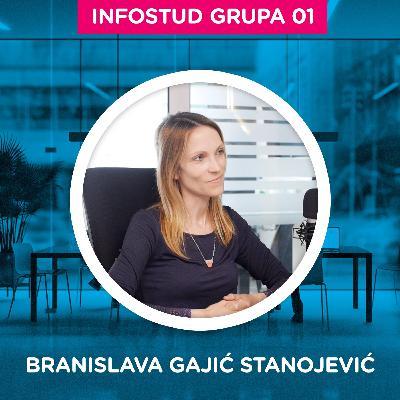 Pojačalo Infostud grupa specijal 1: Branislava Gajić Stanojević - Infostud od 0 do 250 zaposlenih