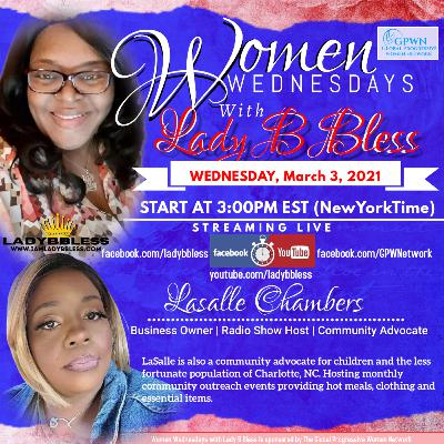 #25 March 3, 2021 - (LaSalle Chambers) Women Wednesdays