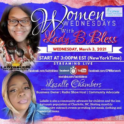 #25 March 3, 2021 - (LaSalle Chambers) Women Wednesdays