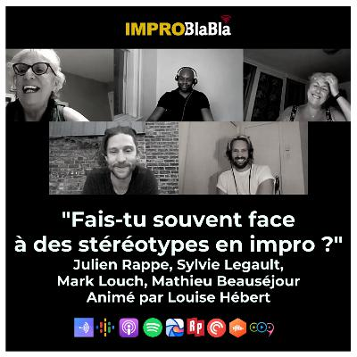 """Fais-tu souvent face à des stéréotypes en impro ?"" (Louise Hébert - Direct Facebook)"