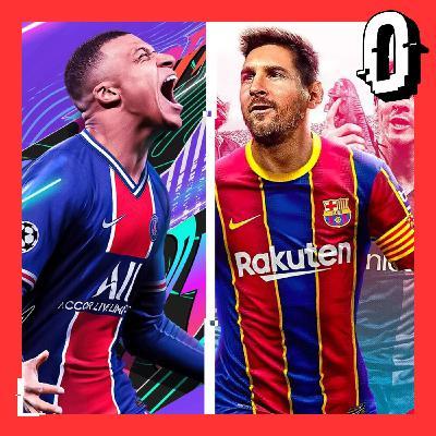 9- FIFA 21 vs PES21 El mismo juego con camisetas distintas