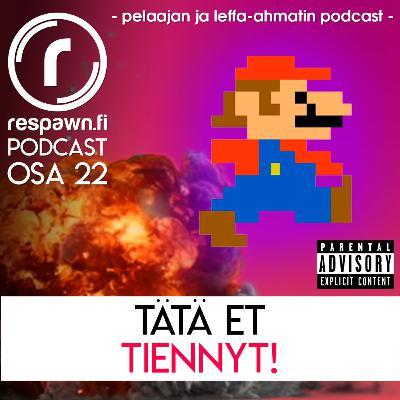 Respawn.fi Podcast, osa 22 feat. Eero Karisalmi – Tätä et tiennyt!