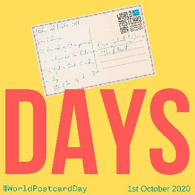 World Postcard Day – 1st October 2020