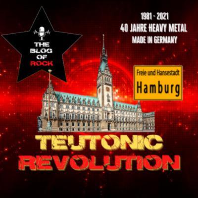 TEUTONIC REVOLUTION - Schwermetall im Hamburger Hafen!