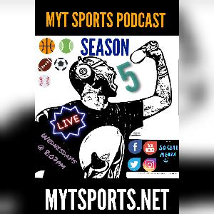 MyT Sports Podcast S5 E14 X158 - ft Guest Jay NCAA, Womens Sports, Wrestling & more