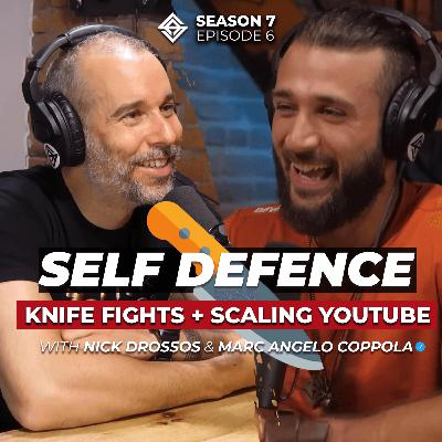 Defensive Tactics - Real Life Knife Fights & Scaling YouTube Content with Nick Drossos
