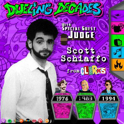 Former gum merchant Scott Schiaffo returns for the worst of March 1976, 1983 & 1994!