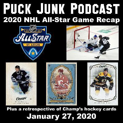 2020 NHL All-Star Game Recap & Champ's Hockey Cards   #44   1/27/2020