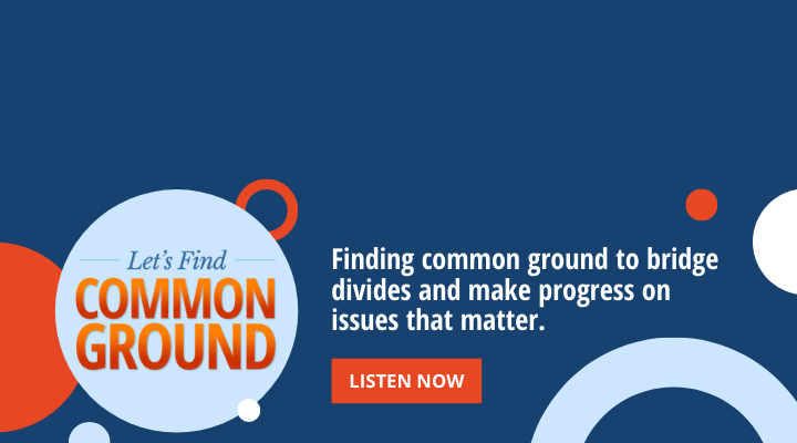 Let's Find Common Ground
