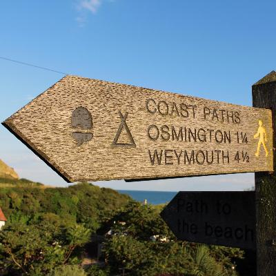 33: The England Coast Path with Stephen Neale and buying your own campsite with Sioned Bannister
