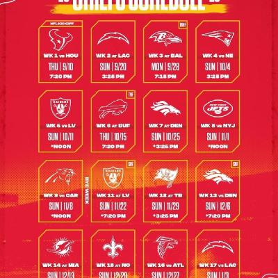 KC Kingdom Radio Breaks Down The Chiefs 2020-21 Schedule