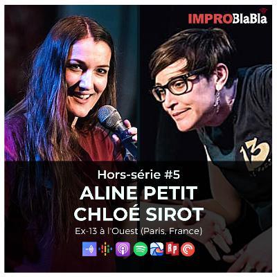 Hors-série #5 : La conscientisation en impro - Aline Petit & Chloé Sirot (Impro Studio, Impromises, etc. - France)