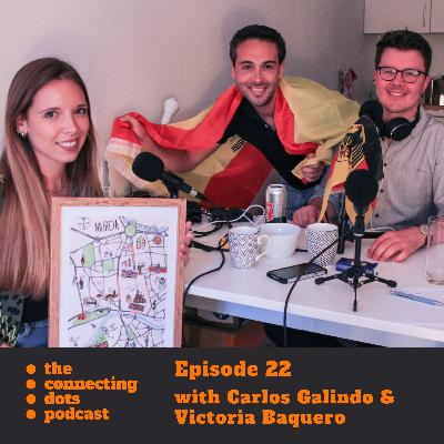 #22: making sense of the joy and challenges of living abroad with my friends Vicky and Carlos