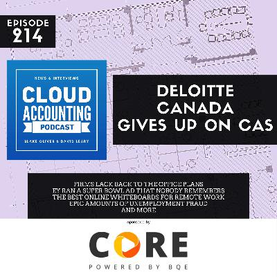 Deloitte Canada Gives Up On CAS