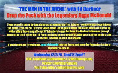 Can the NHL survive another COVID19 season? That and more with Hockey HOF announcer Jiggs McDonald