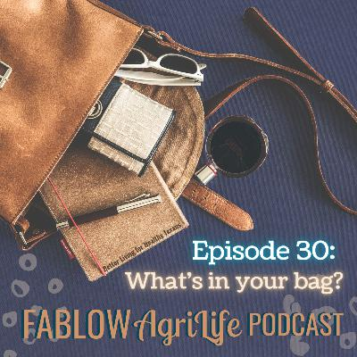What's in your bag? - Episode 30