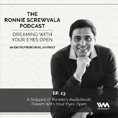 Ep. 13: A Snippet of Ronnie's Audiobook: Dream With Your Eyes Open