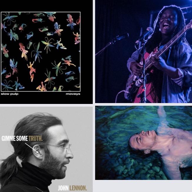 Top 10 des sorties d'albums du 09/10/20 pop/folk/rock/electro/jazz/funk/soul #106