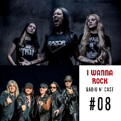 I Wanna Rock #08- Integrantes de saída na Nervosa e nova música do Scorpions