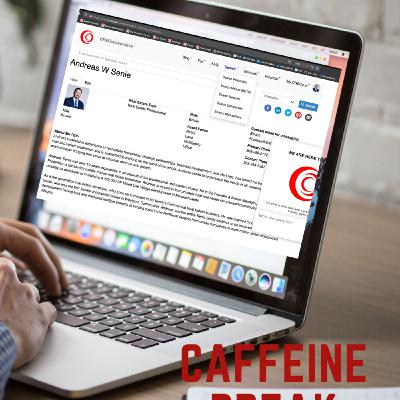 CAFFEINE BREAK - PART III - Getting social and taking your business digital