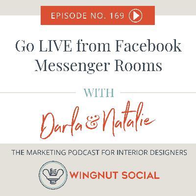 Go LIVE from Facebook Messenger Rooms - Episode 169