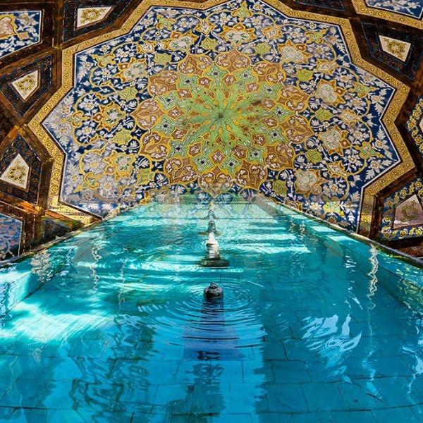 باغ تاریخی فین، بهشتی در دل کویر و چشمه ی سلیمانیه، چشمه ای در دل بهشت